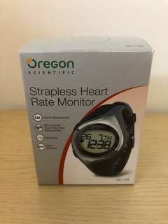 Strapless heart rate monitor