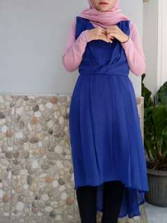 Navy long dress ( no inner )