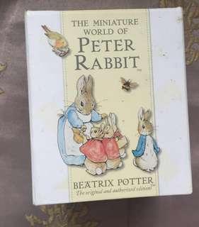 Beatrix Potter Miniature Book Set