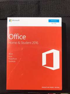 Microsoft Office 2016 + free labtop bag!