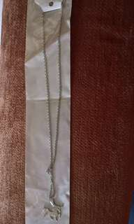 Stainless steel unicorn necklace (price negotiable)