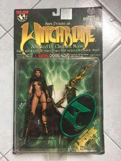 [TSHSE] Sara Pezzini as Witchblade Action Figure by Clayburn Moore (Autographed)