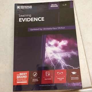 Evidence Study Manual