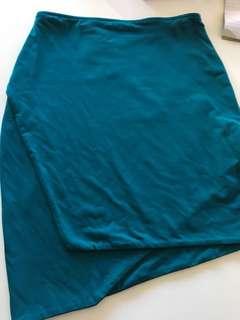 Green kookai skirt size 1