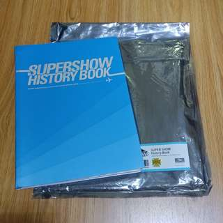 Super Junior Super Show History Book 小卡