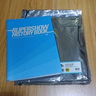 Super Junior Super Show History Book 小卡