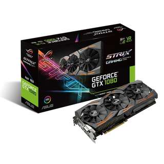 🚚 Asus ROG Strix GeForce® GTX 1080 Advanced edition 8GB GDDR5X (ROG STRIX-GTX1080-A8G-GAMING)
