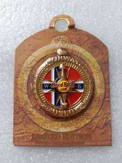 Hard Rock Cafe Pins ~ OSLO HOT 2016 ANTIQUE COMPASS SERIES PIN!