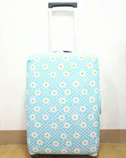 LUGGAGE COVER (DAISY IN POLKA DOTS)