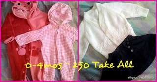 Baby Girl Clothes 0-6mos Assorted