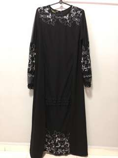 Black Jubah M size
