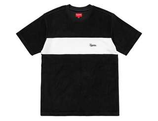 🚚 (M) Supreme Chest Terry Top, Black
