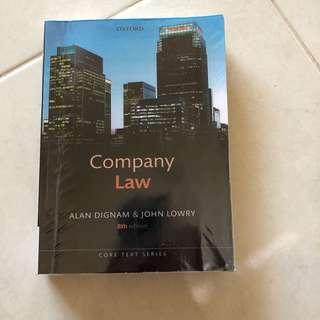 Company Law by Alan Dignam and John Lowry