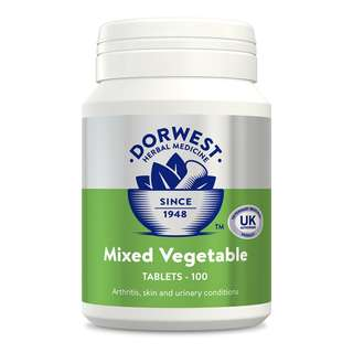 🚚 Mixed Vegetable Tablets For Dogs And Cats 100 tabs