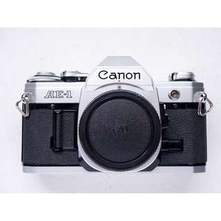 Canon AE-1 SLR film camera
