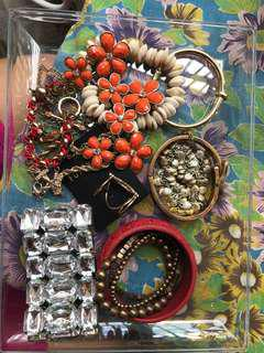 Lot of assorted Bracelet, Rings and Necklace