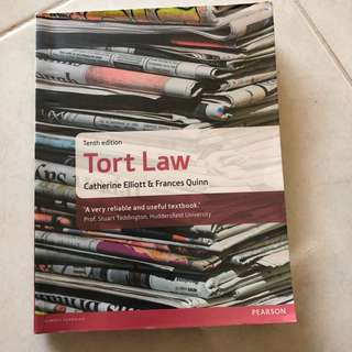 Tort Law by Catherine Elliott and Francis Quinn