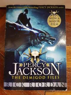 Percy Jackson The Demigod Files