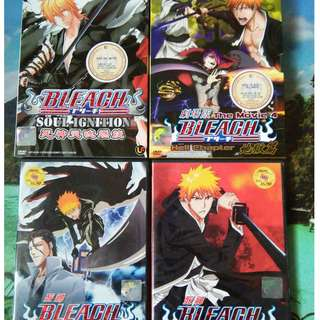 Bleach Anime DVD