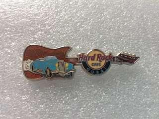Hard Rock Cafe Pins - DUBAI HOT 2012 CLASSIC OLD TIMER CAR GUITAR PIN!