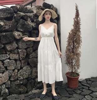 Basic Ruffle Maxi Dress