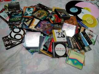 Grab bag CD, Tape, DVD, Vinyl and Magazines.