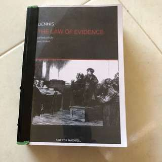 The Law of Evidence by Ian Dennis