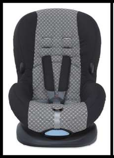 Mothercare Express car seat in Chequerboard