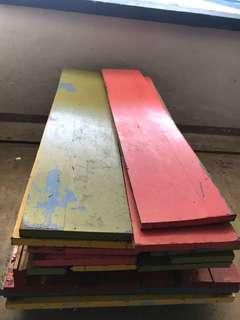 Industrial/Heavy Duty Solid Wood (1 Lot)