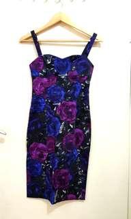 Bodycon Purple Dress