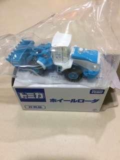 非賣品 TOMY Tomica 37 藍白鏟泥車