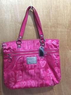 Coach Poppy Glam Metallic Pink 15301