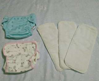 Cloth Diaper with 3pcs micro-fiber insert