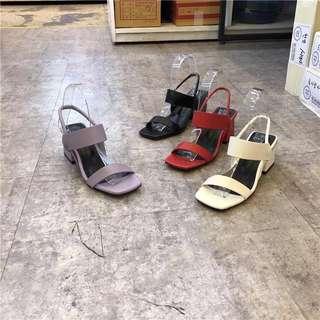 東大門 厚底氣質涼鞋