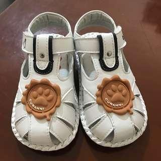 🚚 近新 CHACHATWO真皮童鞋14.5