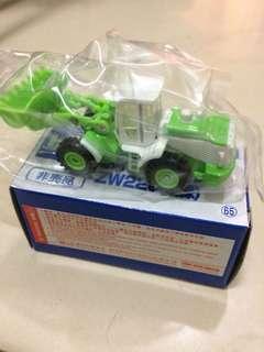 非賣品 TOMY Tomica 65黃綠色鏟泥車