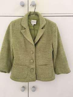 Light green jacket size Smal (4 US)-brand Walter