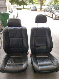 BMW e46 leather seats