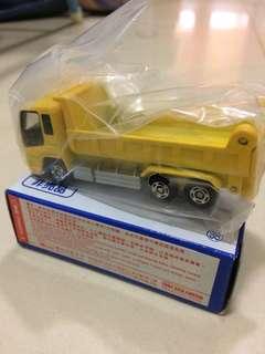 非賣品TOMY Tomica 38黃色泥頭車