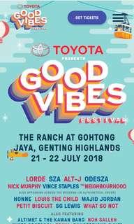 Goodvibes Festival 2018 Hotel Room