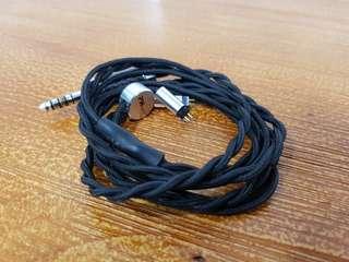 PWAudio 1960 IEM Cable (w/ Furutech 4.4mm)