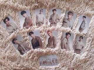 Readystock Wanna One Photocard Concert One : The World