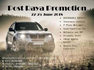 POST HARI RAYA PROMOTION 📞 KIM - 82044888 📞 📞 FELICIA - 82065888 / 88223303 📞 📞 ALAN - 91808916 📞