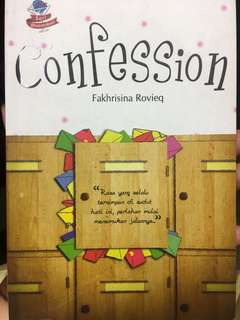 Novel confession by Fakhrisina R.