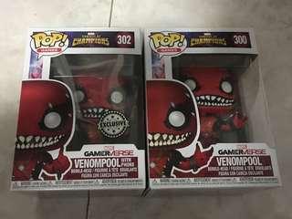 Funko POP Venompool Pair