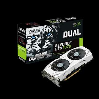 🚚 ASUS Dual series GeForce® GTX 1070 8GB GDDR5 (DUAL-GTX1070-8G)
