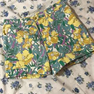 Thrifted Floral Shorts
