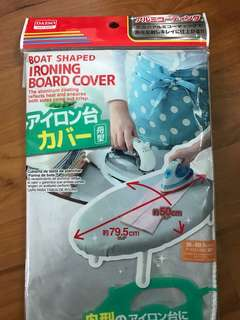 BNIP boat shaped ironing board cover