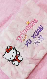 Hello Kitty Minky Star Baby Pillow Husk Cotton Pillow