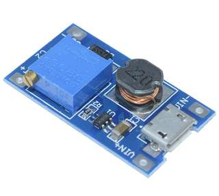 MT3608 DC-DC 28v 2A Adjustable Step Up Converter